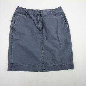 Brooks Brothers 346 Womens Denim Pencil Skirt Sz 6